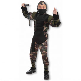 Secret Strike Force Ninja Costume