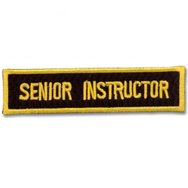 Senior Instructor Bar Patch