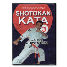 Shotokan Kata Vol. 3: Black Belt Forms (DVD)