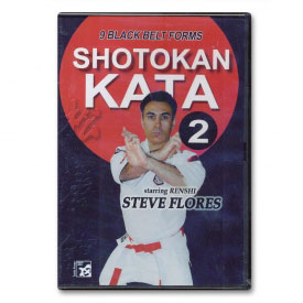Shotokan Kata Vol. 2: Black Belt Forms (DVD)