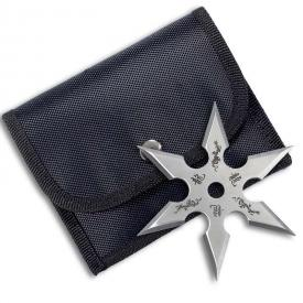 Silver Dragon 6 Point Shuriken