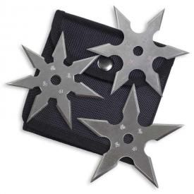 Silver Kohga Variety Throwing Stars