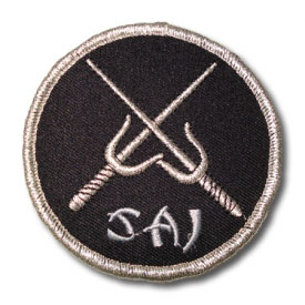 Silver Sai Patch