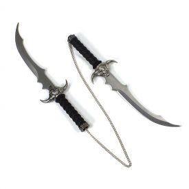Skull Handle Double Daggers