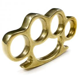 Solid Brass Knuckle Duster