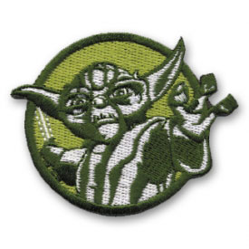 Star Wars Compact Yoda Patch