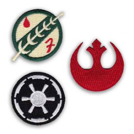 Star Wars Emblems Patch Set