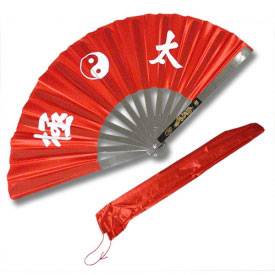 Steel Tai Chi Fan