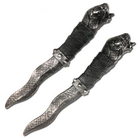 Stone Serpent Twin Costume Blades