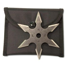 Stone-Wash 6-Point Throwing Star