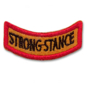 Strong Stance Award Patch (1 Left In Stock)