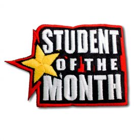 Star Student of the Month Patch