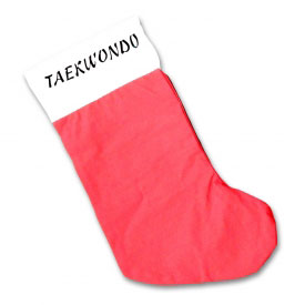 Taekwondo Christmas Stocking