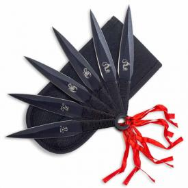 Tasseled Kunai Throwing Knives