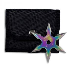 Titanium Finish 6-Point Ninja Star