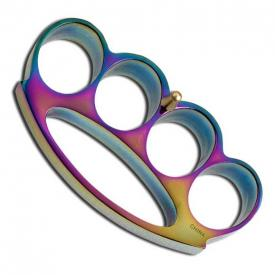 Titanium Finish Knuckle Duster