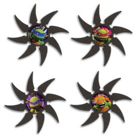 TMNT Foam Star Set