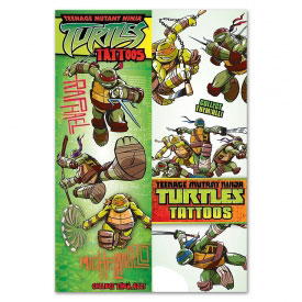 TMNT Temporary Tattoo Pack
