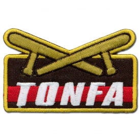 Tonfa Technique Achievement Patch