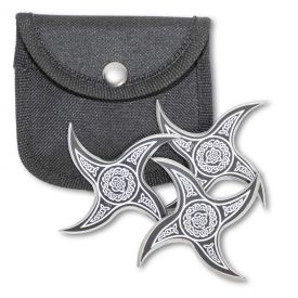 Triquetra Throwing Star Set