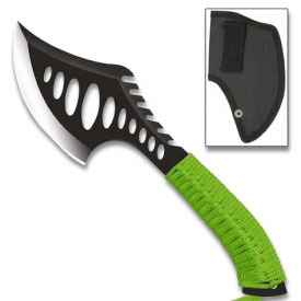 Vented Zombie Throwing Axe