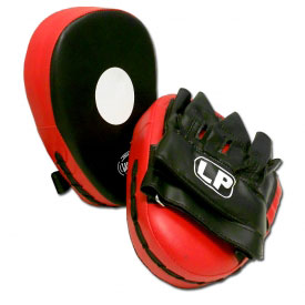 Vinyl Curved Focus Mitts (Pair)