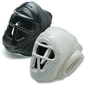 Vinyl Headgear with Cage