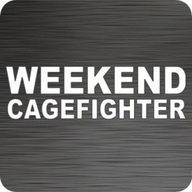 Weekend Cagefighter Car Decal