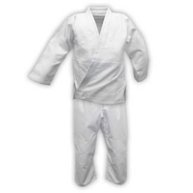 White Double Weave Judo Uniform