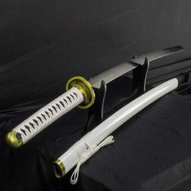 White Hand-Forged Katana