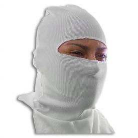 White Ninja Face Mask