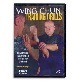 Wing Chun Training Drills: Develop Conditioned Reflex for Combat (DVD)