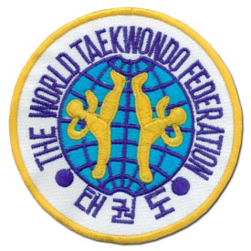World Taekwondo Federation Patch