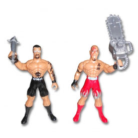 X-Treme Action Fighters Twin Packs