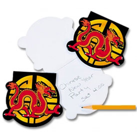 Year Of The Dragon Notepad