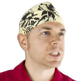 Yellow Kendo Headband (7 left In Stock)