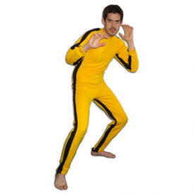 Yellow Martial Arts Jumpsuit