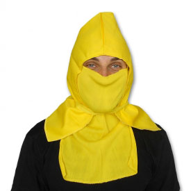 Yellow Ninja Hood and Mask