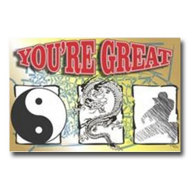 You\'re Great Postcard