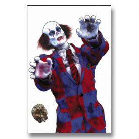 Zombie Clown Target Poster