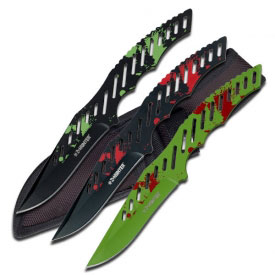 Zombie Hunter Light Weight Throwing Knives