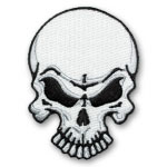Angry Skull Patch