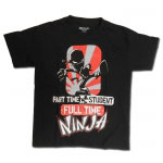Kids Full-Time Ninja T-Shirt