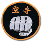 Karate Fist Patch