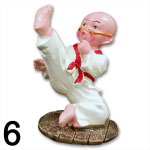 kung fu monk figurines kung fu statues kung fu gifts. Black Bedroom Furniture Sets. Home Design Ideas