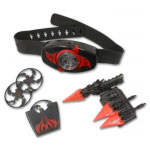 Light Up Ninja Throwing Weapons Belt