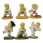 Mini Kung Fu Monk Set