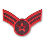 Patriotic Star and Stripes Patch