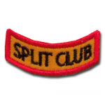 Split Club Award Patch