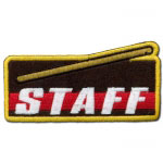 Staff Technique Achievement Patch